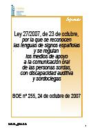 Separata Ley 27/2007