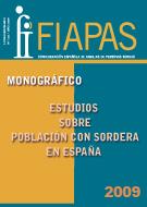 Estudios sobre población con sordera en España – 2009