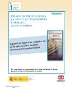 Premio FIAPAS 2013 (Área de Accesibilidad)