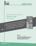 Premio FIAPAS 2004 (Área de Educación)