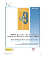 Premio FIAPAS  2009 (Área de Educación)