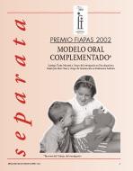 imagen de la portada de la Separata Premio FIAPAS 2002. Área de Educación en la que se puede leer el título del trabajo premiado.