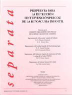 Propuesta para la Detección e Intervención Precoz de la Hipoacusia Infantil