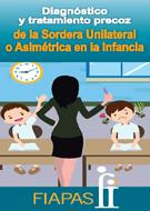 Imagen de la portada del folleto de la CODEPEH en la que se ve a una profesora con dos alumnos uno que se entera de lo que está diciendo y otro que no.