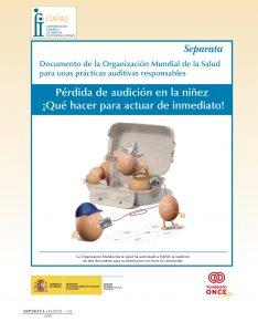 Documento de la OMS: Pérdida de audición en la niñez ¡Qué hacer para actuar de inmediato!