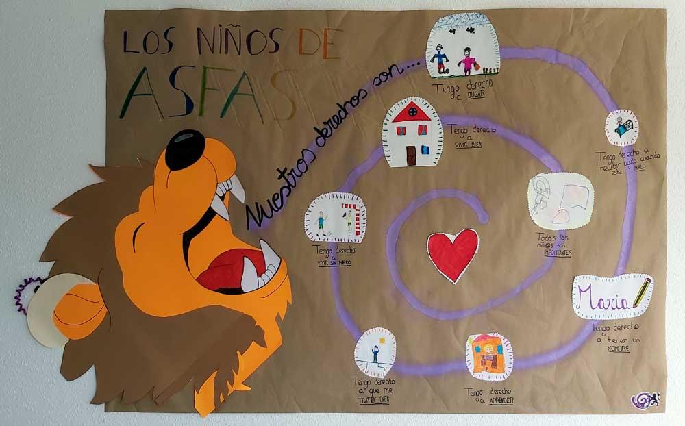 Mural: Los niños de ASFAS