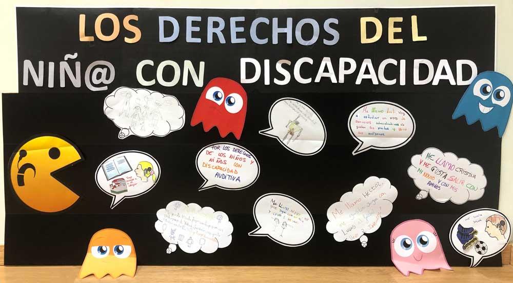Mural: Los niñ@s sordos también tenemos derechos