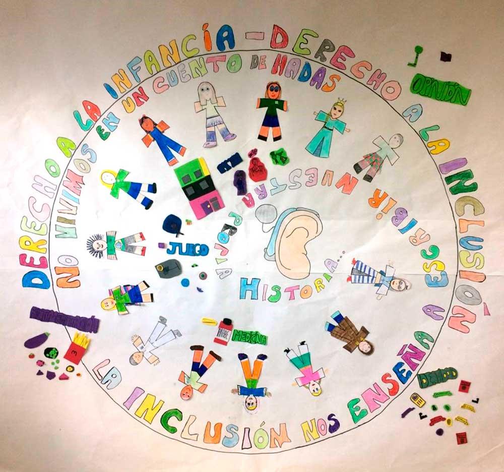 Mural: La magia de la inclusión