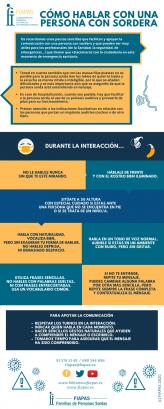 CUANDO HABLÉIS DEL COVID-19 CON VUESTROS HIJOS/AS CON SORDERA…
