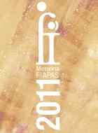 Imagen de la portada de la Memoria FIAPAS 2011 en la que aparece el logotipo de la entidad y el año al que corresponde