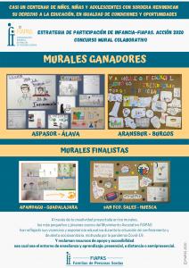 ESTRATEGIA DE PARTICIPACIÓN DE INFANCIA-FIAPAS. ACCIÓN 2020. Concurso Mural Colaborativo